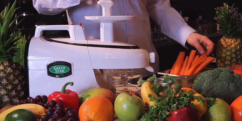 Cold-Press Juicer Tribest GSE-5050 Greenstar Elite