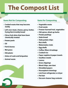 Dos and Donts of Composting