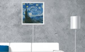 Blue Canvas Digital Picture Frame